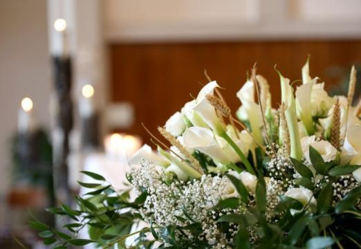Fleurs de deuil, décès Marseille